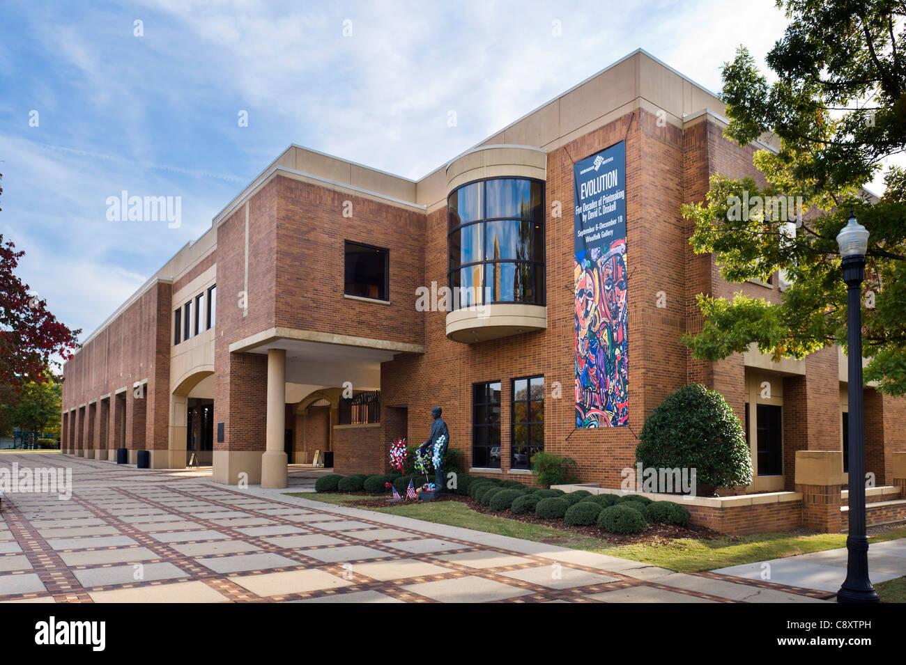 Birmingham Civil Rights Institute, 16th Street North, Civil Rights District, Birmingham, Alabama, USA - Stock Image