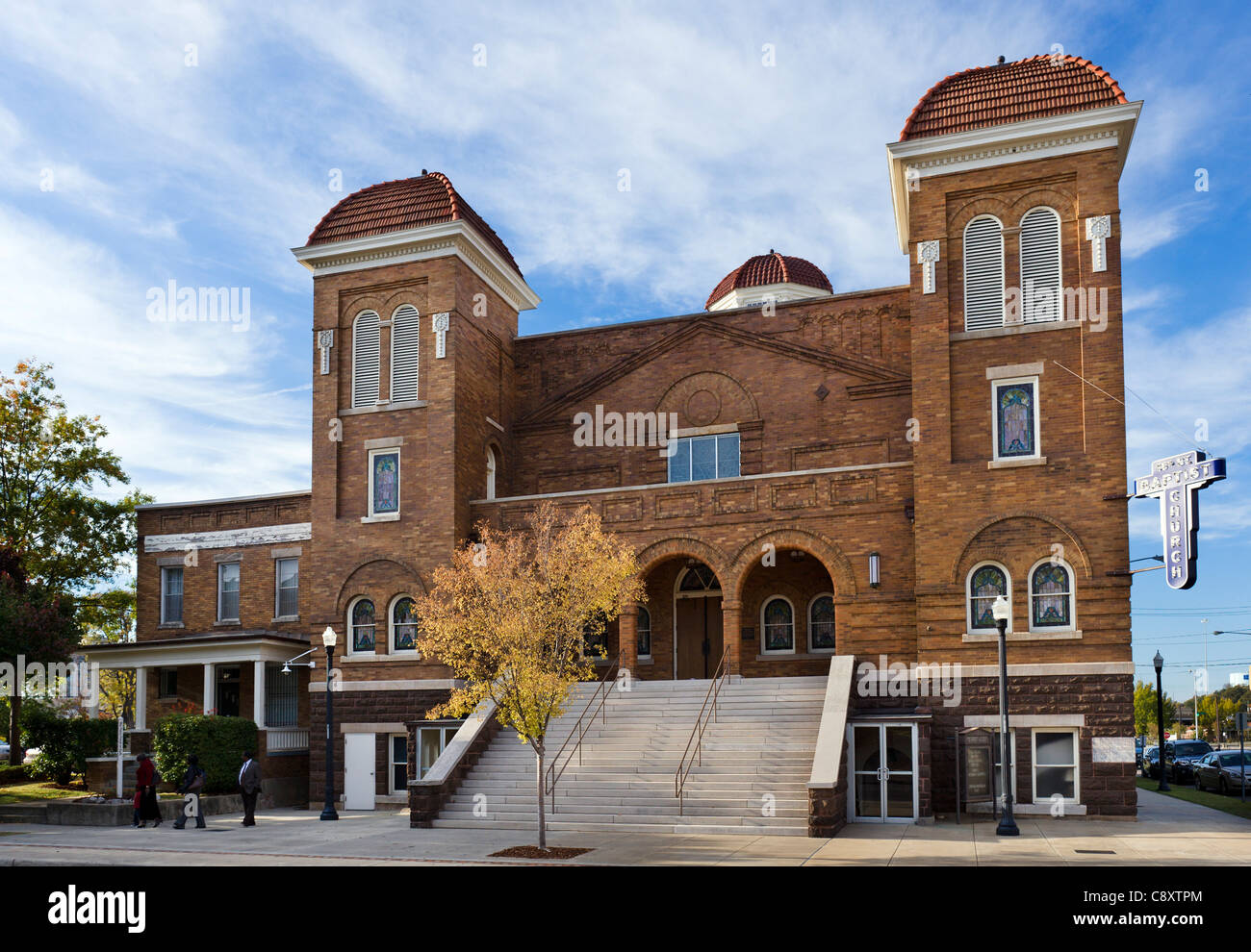 The 16th Street Baptist Church, centre of the civil rights movement in Birmingham, Alabama, USA Stock Photo
