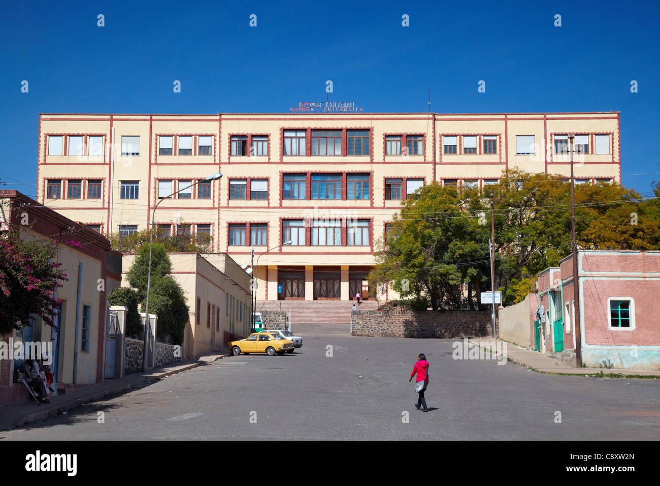 Asmara University, Asmara, Eritrea, Africa Stock Photo