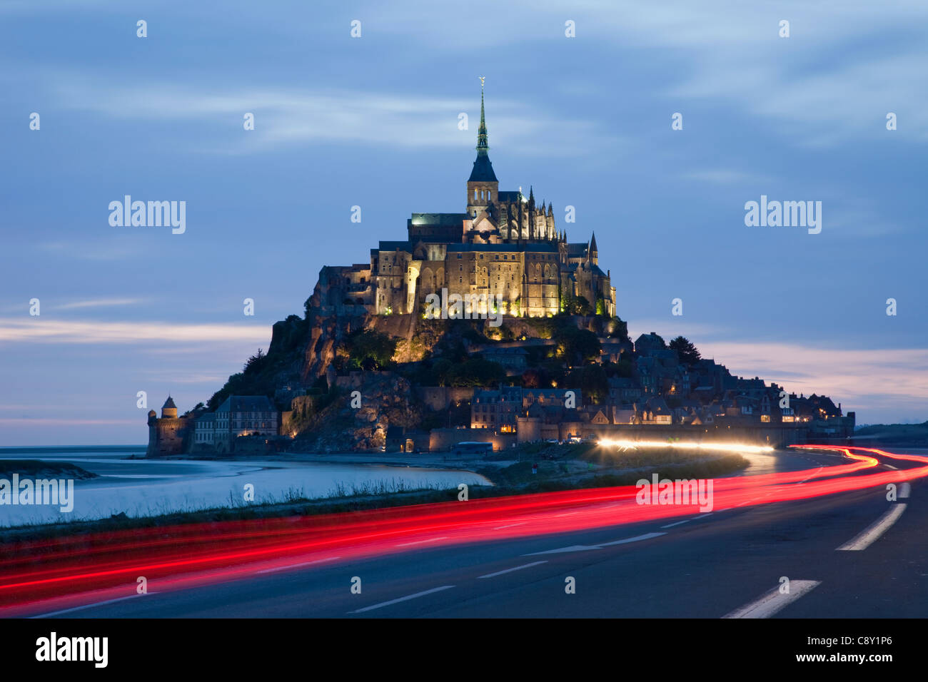 France, Normandy, Mont St.Michel - Stock Image