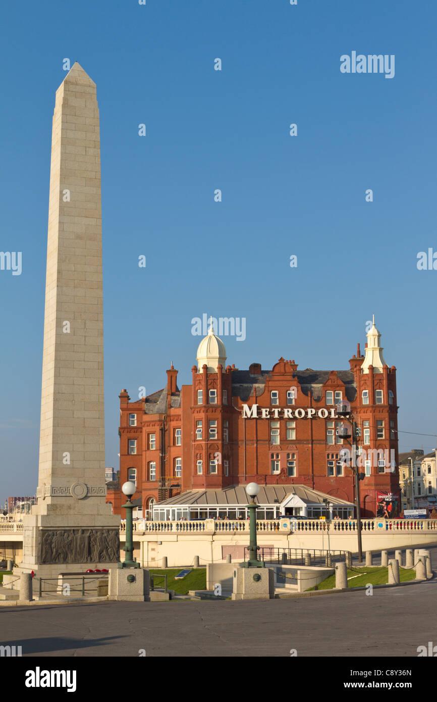 Grand Metropole Hotel, Blackpool, England - Stock Image