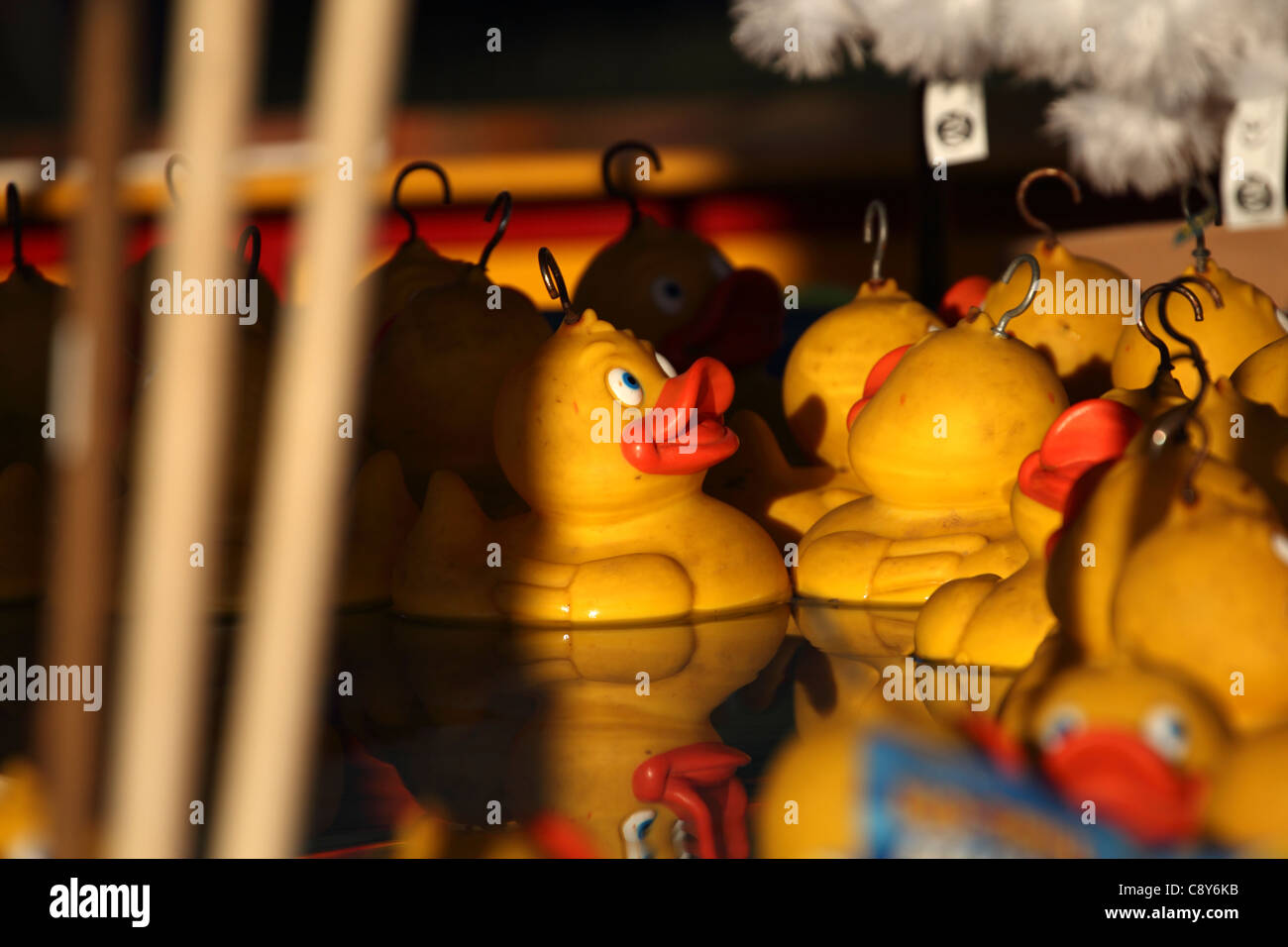 Hook A Duck Stall Stock Photos & Hook A Duck Stall Stock Images - Alamy