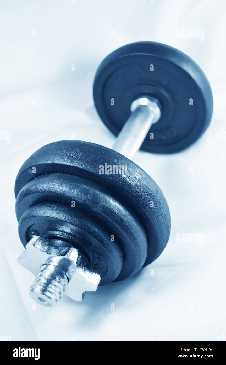 Workout equipment - Stock Image