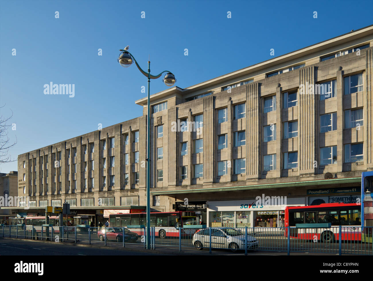 Pearl Assurance House, Plymouth - Stock Image