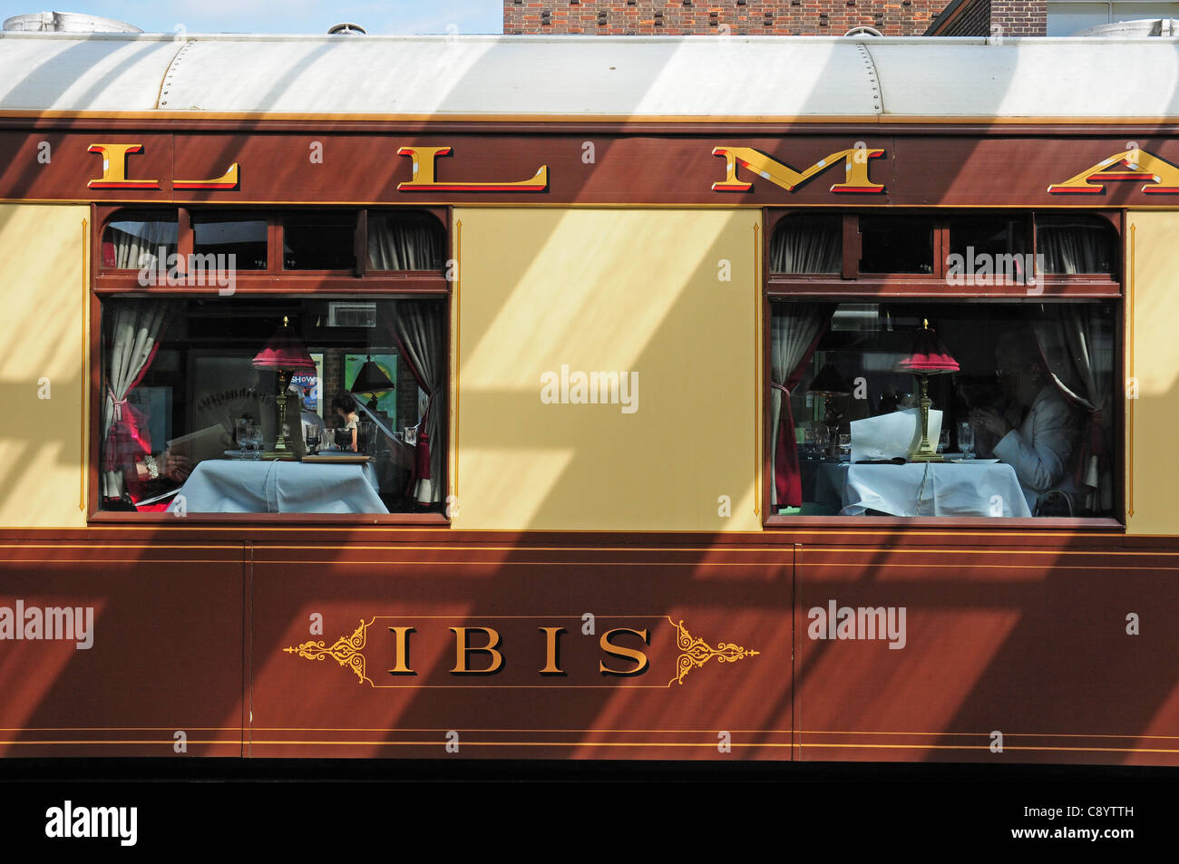 Two Windows In The Ibis Pullman Carriage Of The Orient