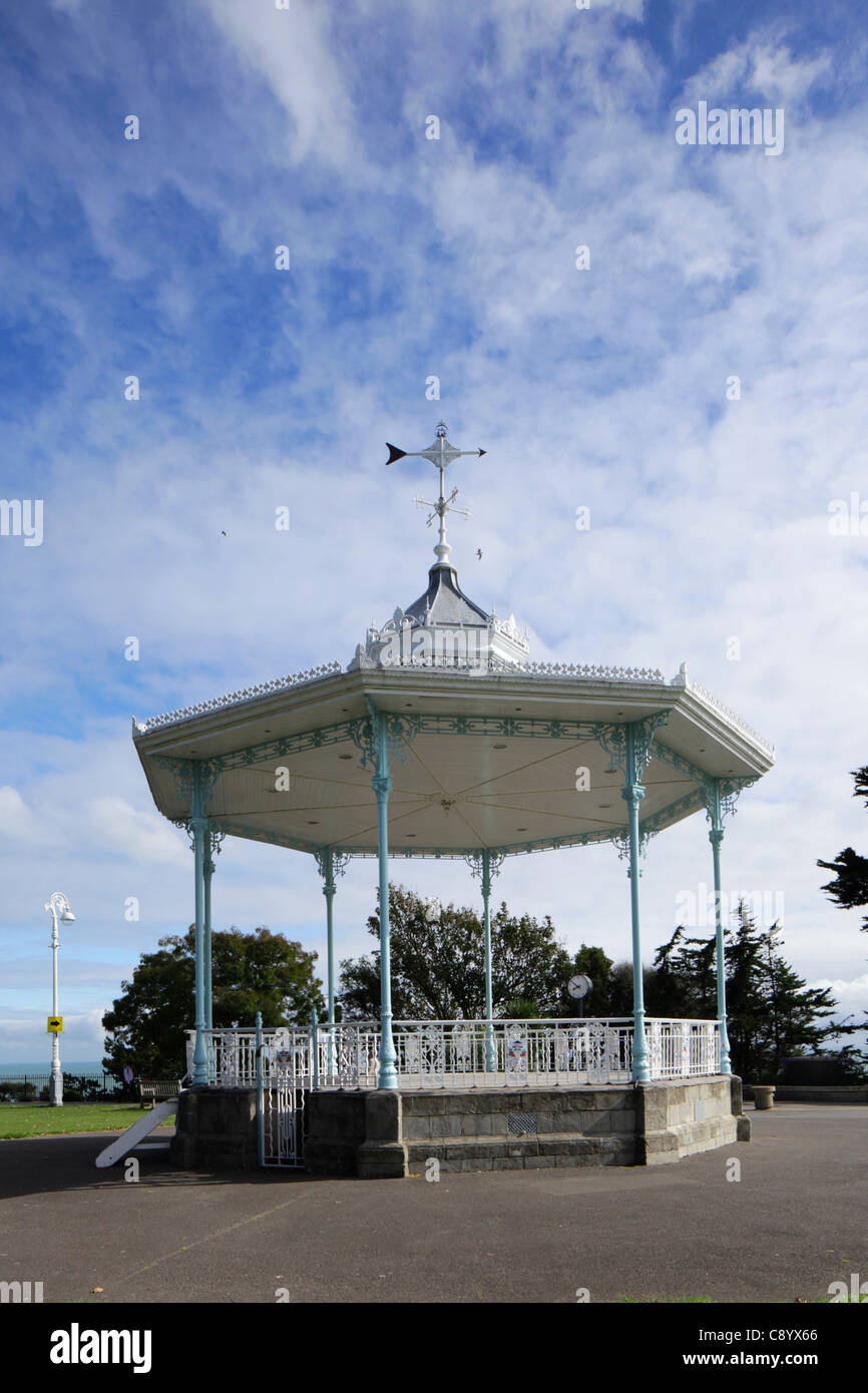 Bandstand on the Leas at Folkestone - Stock Image