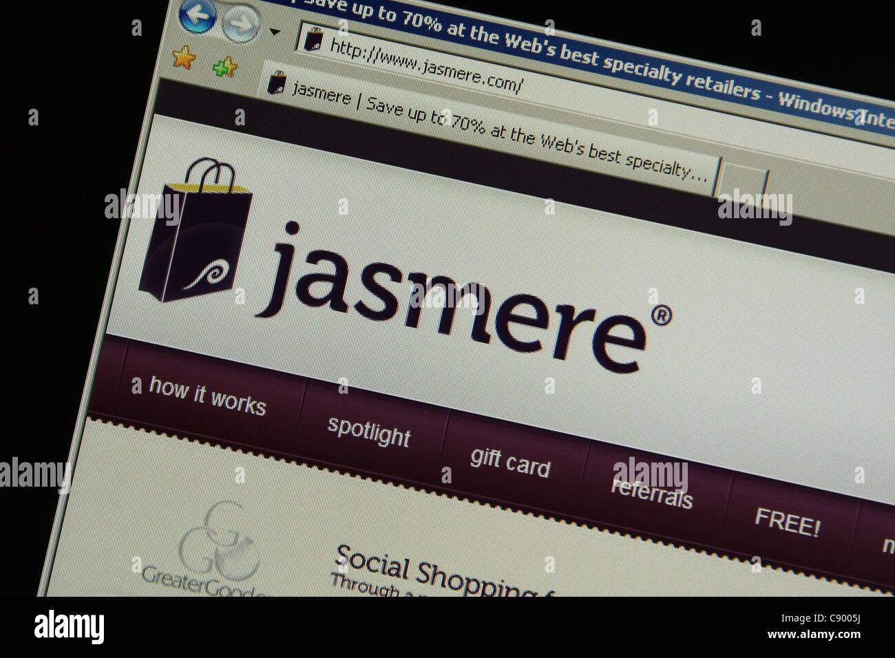 jasmere jasmere.com - Stock Image