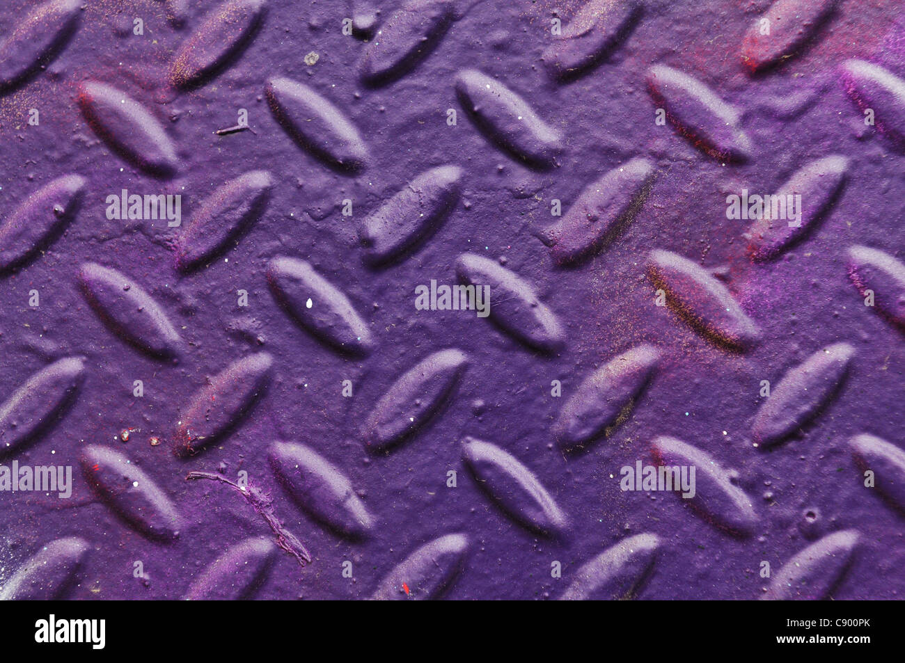 Textured metallic background - Stock Image