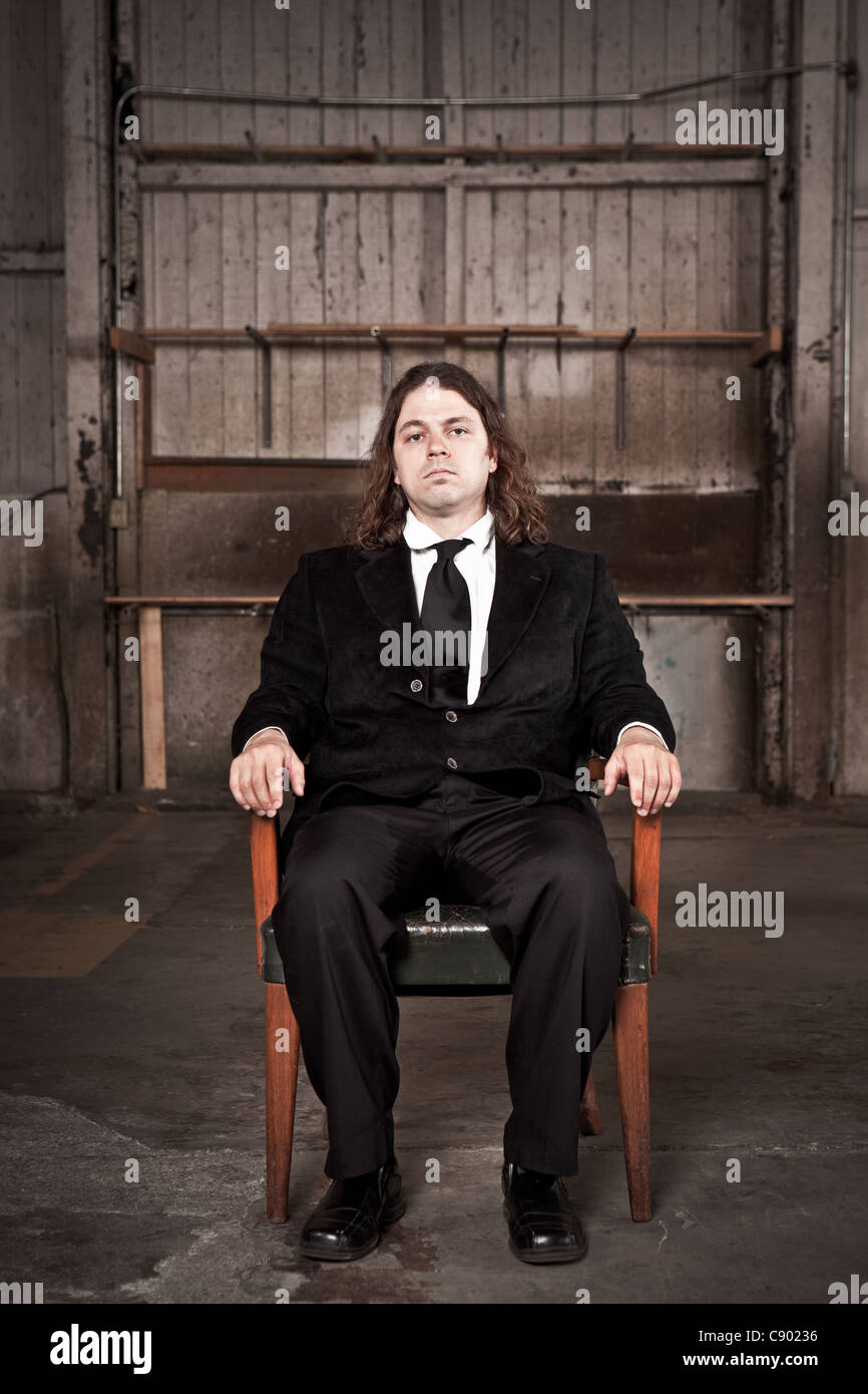 Mafia Job Interview - Stock Image