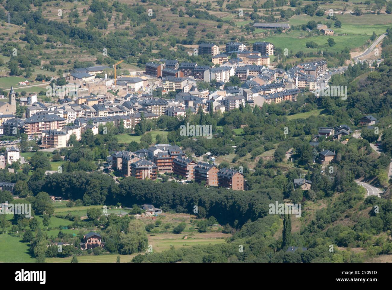 Sort - Pyrenees - Catalonia Spain - Stock Image