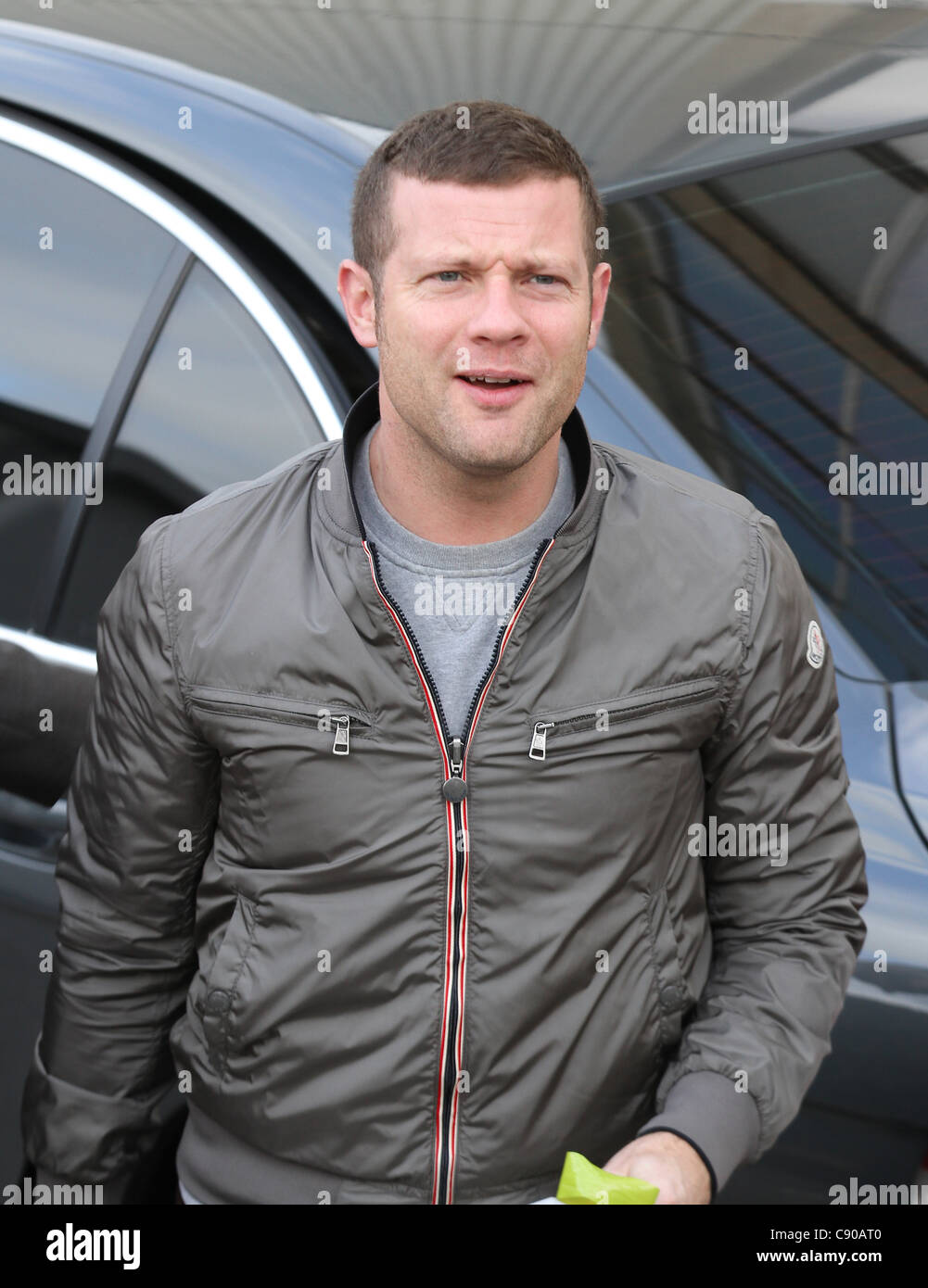 London, UK, 06/11/2011 Dermot O'Leary arrives for the live X Factor show in London. - Stock Image