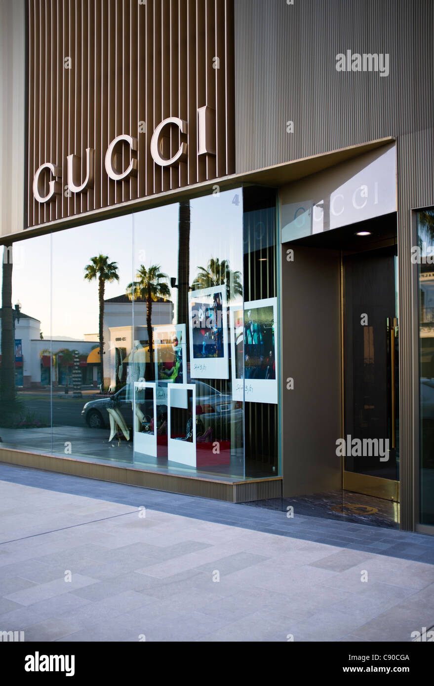 Beau Gucci Storefront On El Paseo In Palm Desert California.