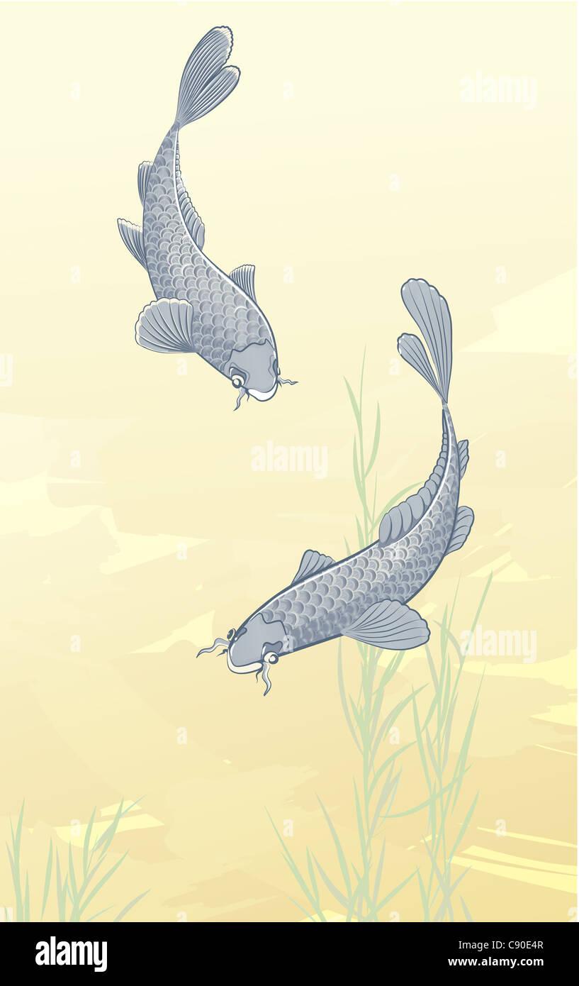 Koi Art Stock Photos & Koi Art Stock Images - Alamy