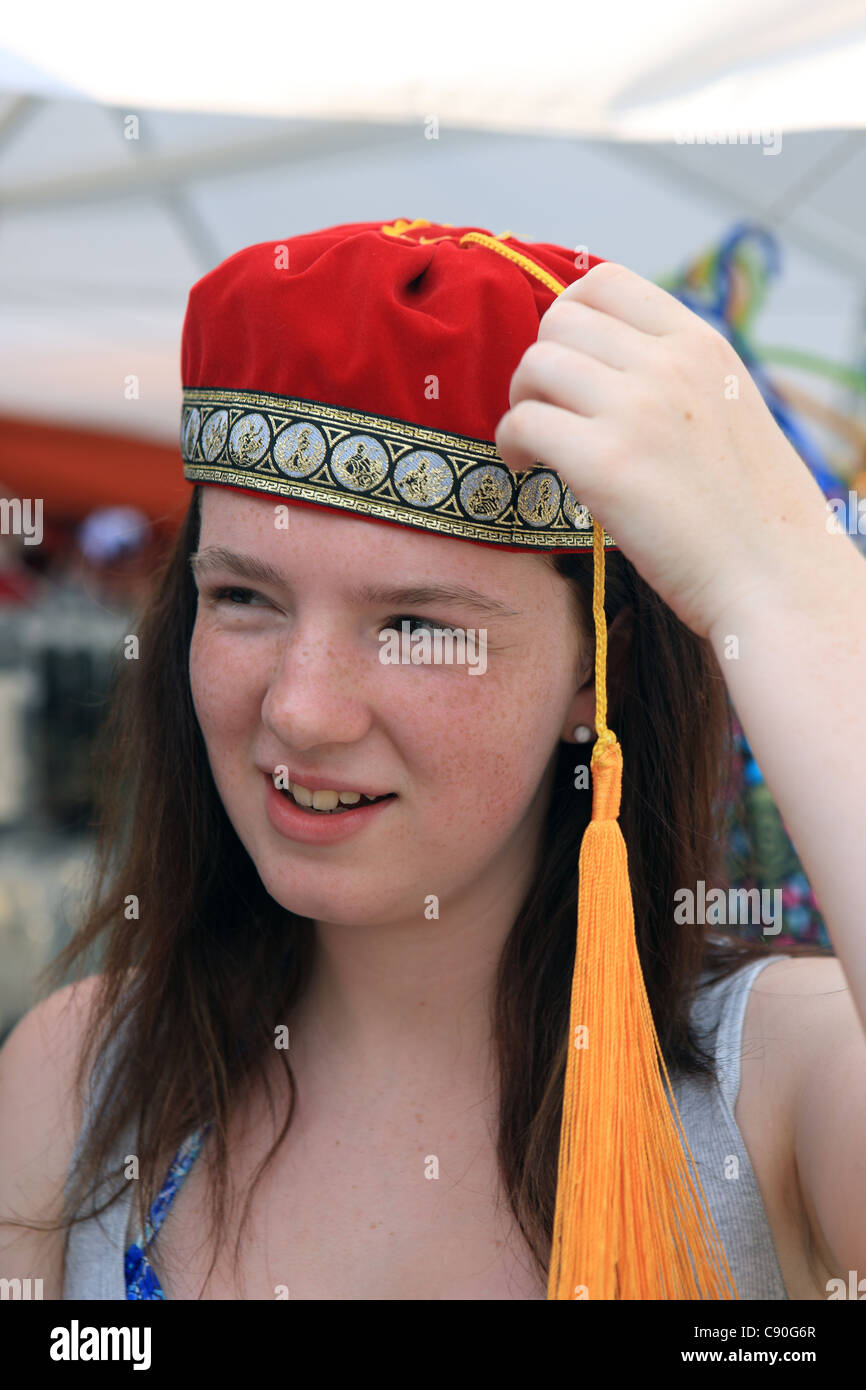 greece girl photo