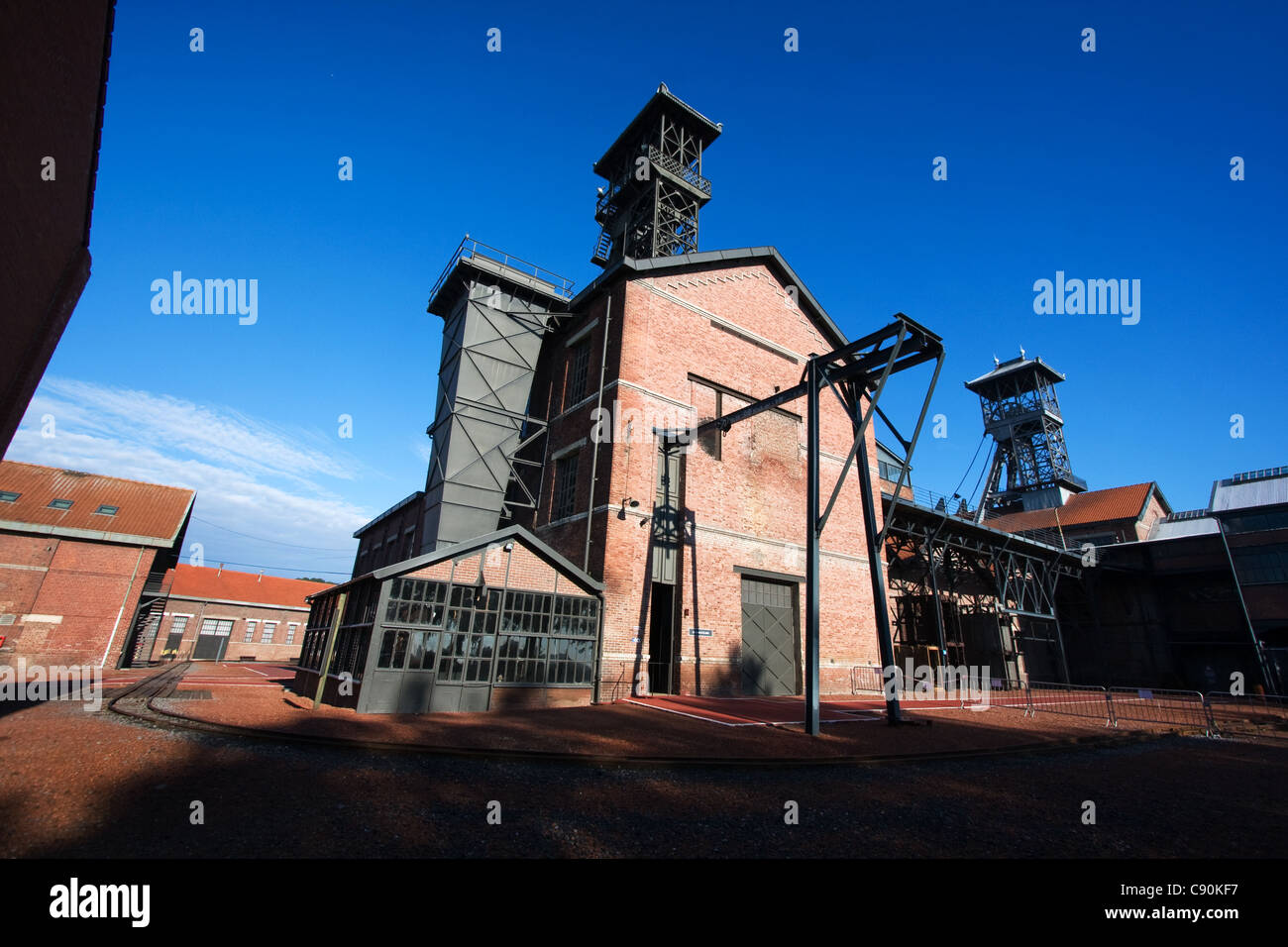 Mining History Centre of Lewarde Museum France - Stock Image