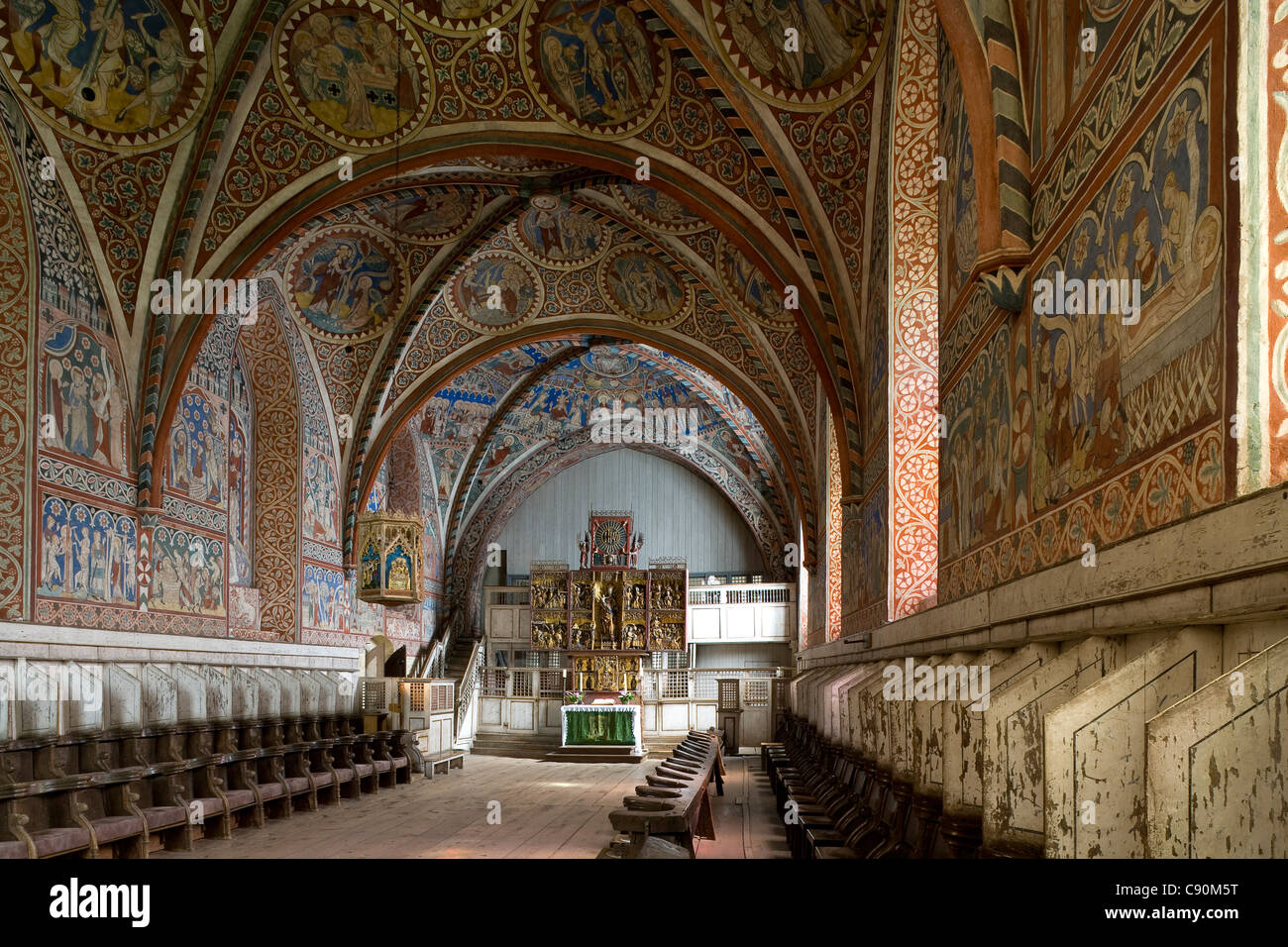 Nunnery at Wienhausen Convent former Cistercian nunnery is today an evangelical abbey Wienhausen Lower Saxony Germany Stock Photo