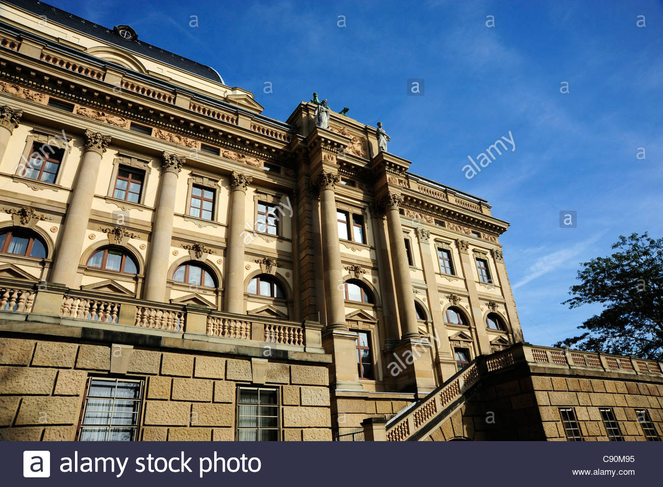 Hessian State Theater, Wiesbaden, Hesse, Germany, Europe - Stock Image