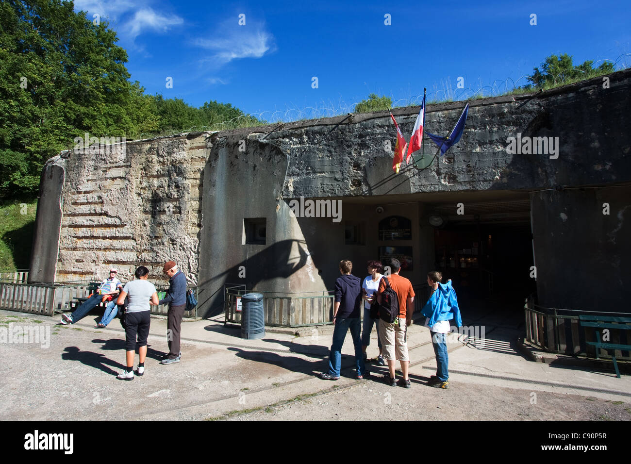 Four à Chaux Maginot fortress France - Stock Image