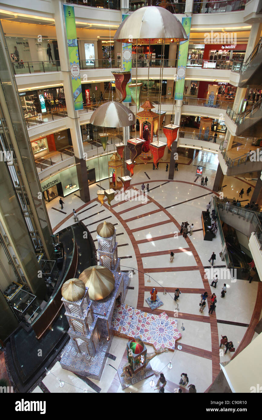 Interior Pacific Place shopping mall, Jakarata, Jakarta, Indonesia, Asia - Stock Image
