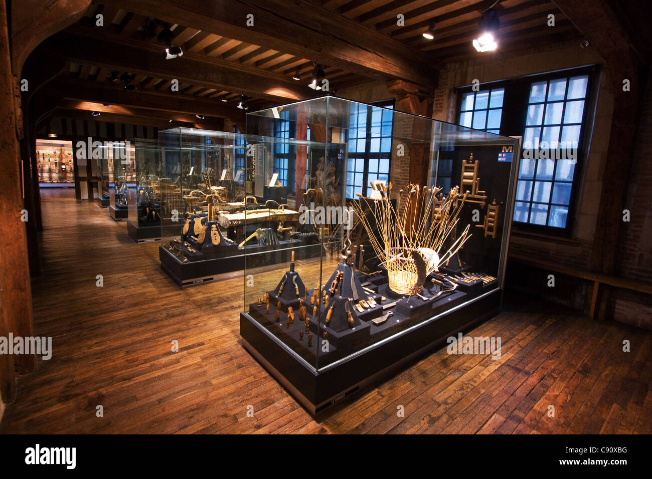 Troyes tool museum in France - Stock Image
