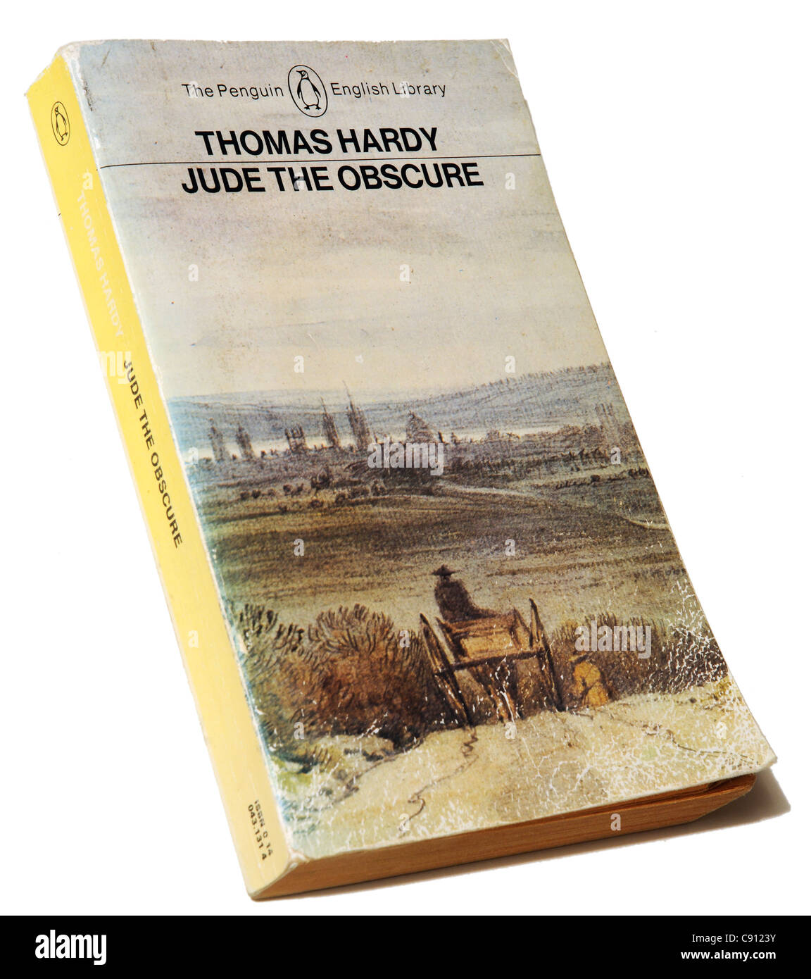 Jude The Obscure by Thomas Hardy - Stock Image