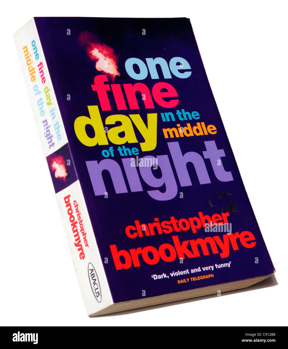 One Fine Day in the Middle of the Night by Christopher Brookmyre - Stock Image