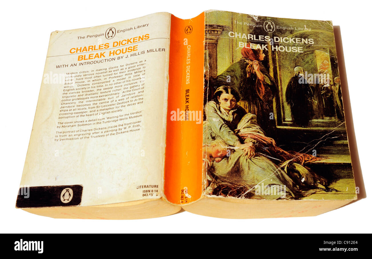 Bleak House by Charles Dickens - Stock Image