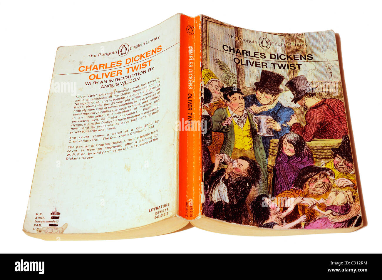 Oliver Twist by Charles Dickens Stock Photo