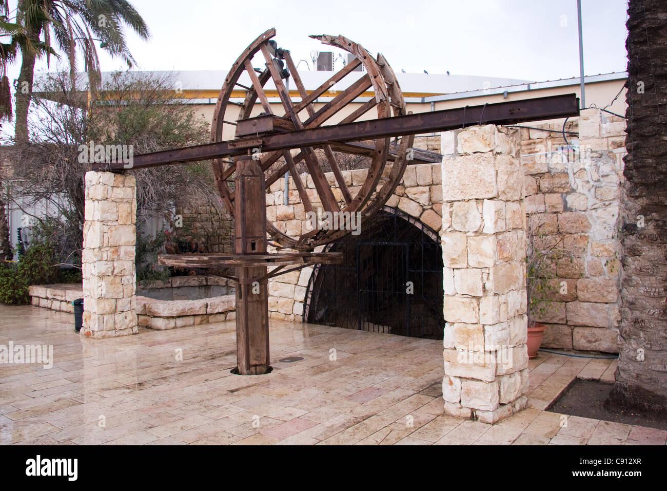 Abraham's well in Be'er Sheva Israel Stock Photo