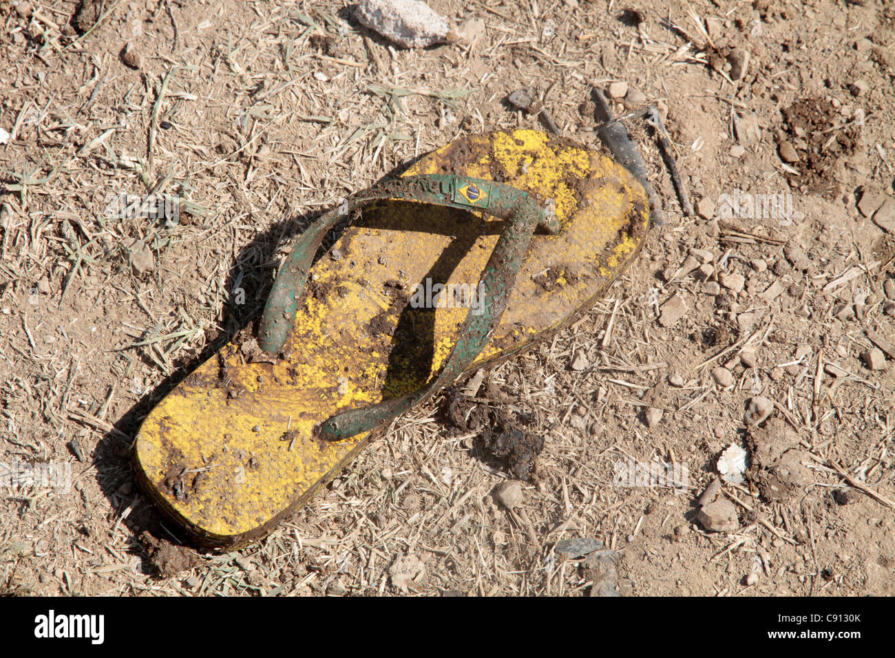 630440f852e8b Dirty Flip Flops Stock Photos   Dirty Flip Flops Stock Images - Alamy