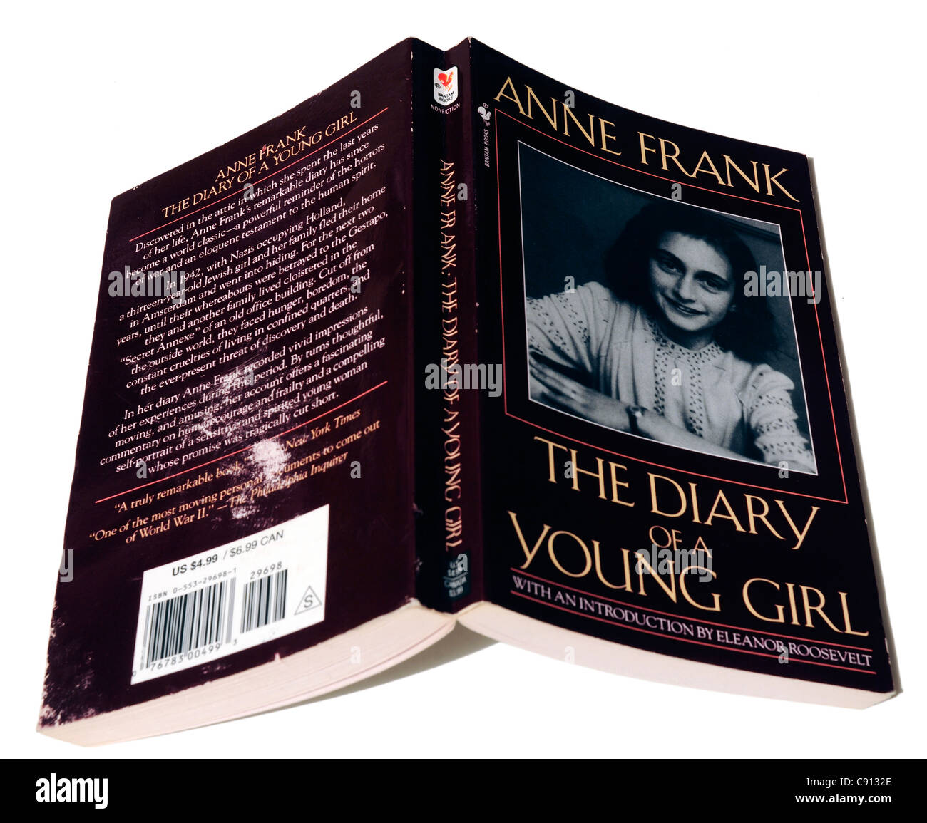 The Diary of Anne Frank - Stock Image