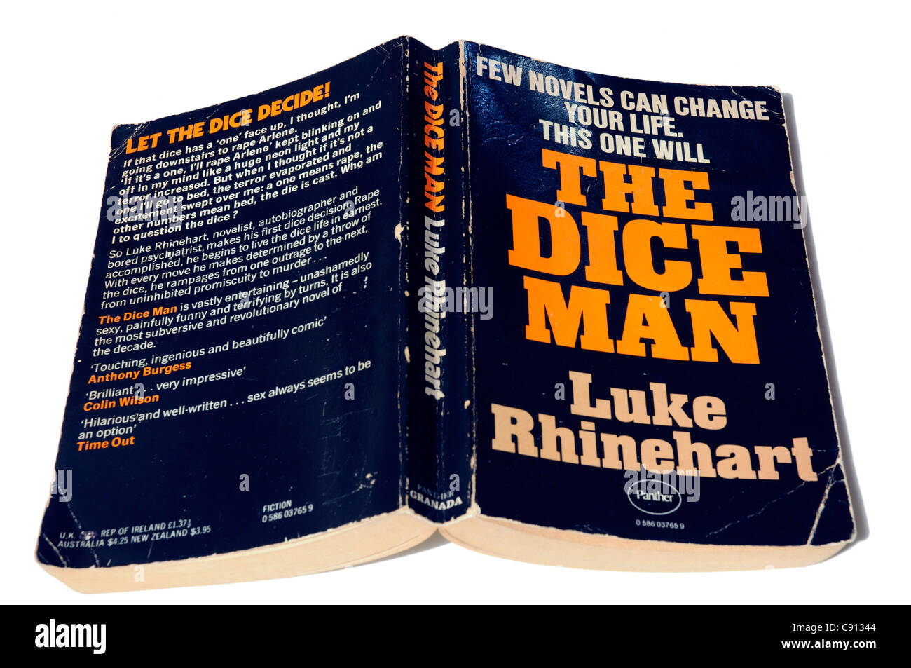 The Dice Man by Luke Reinhardt - Stock Image