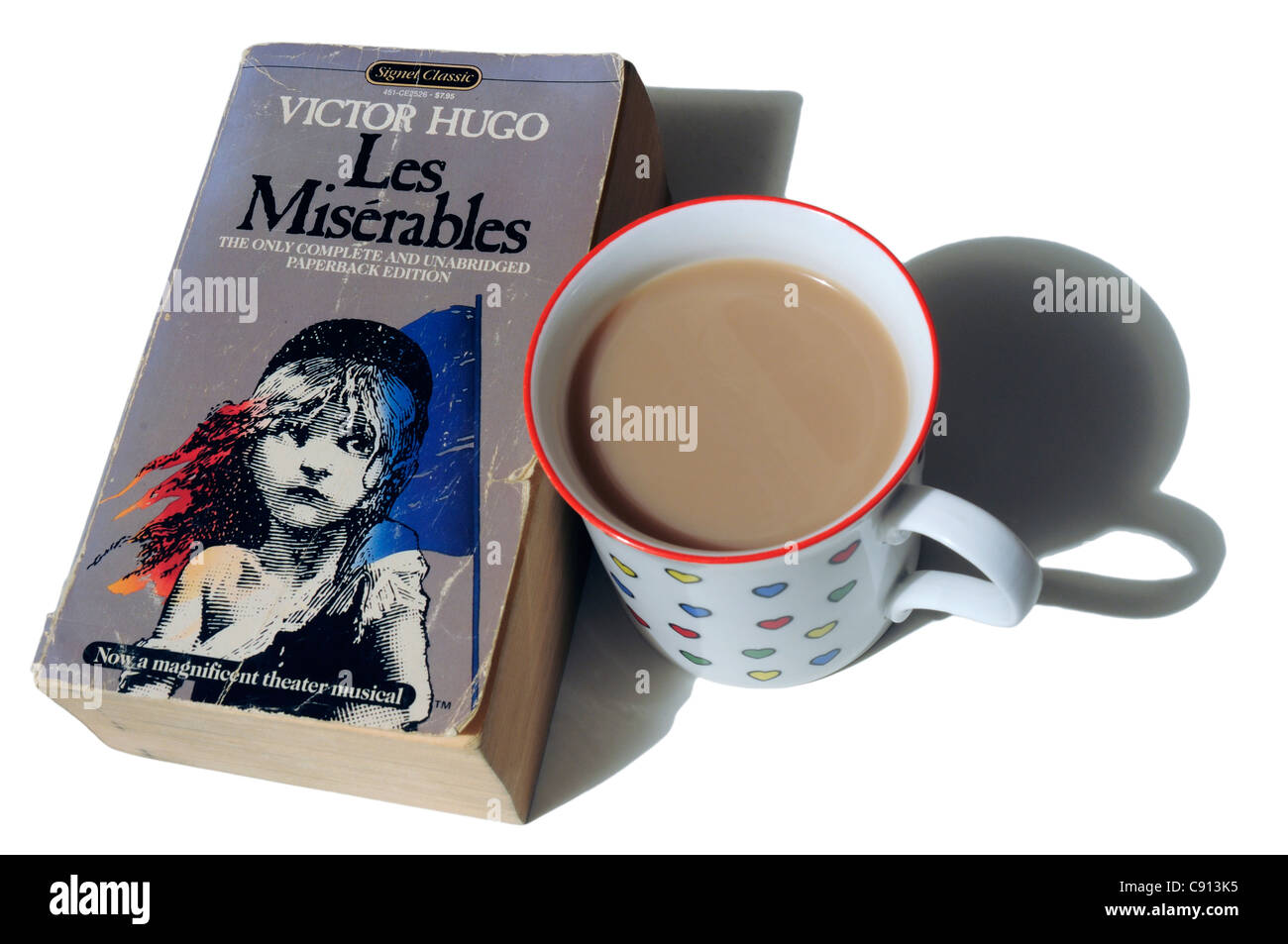 Les Miserables by Victor Hugo Stock Photo