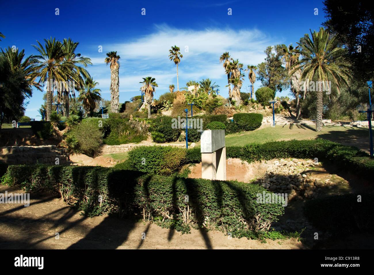 HaPisgah Gardens Park, Jaffa, Tel Aviv Israel - Stock Image