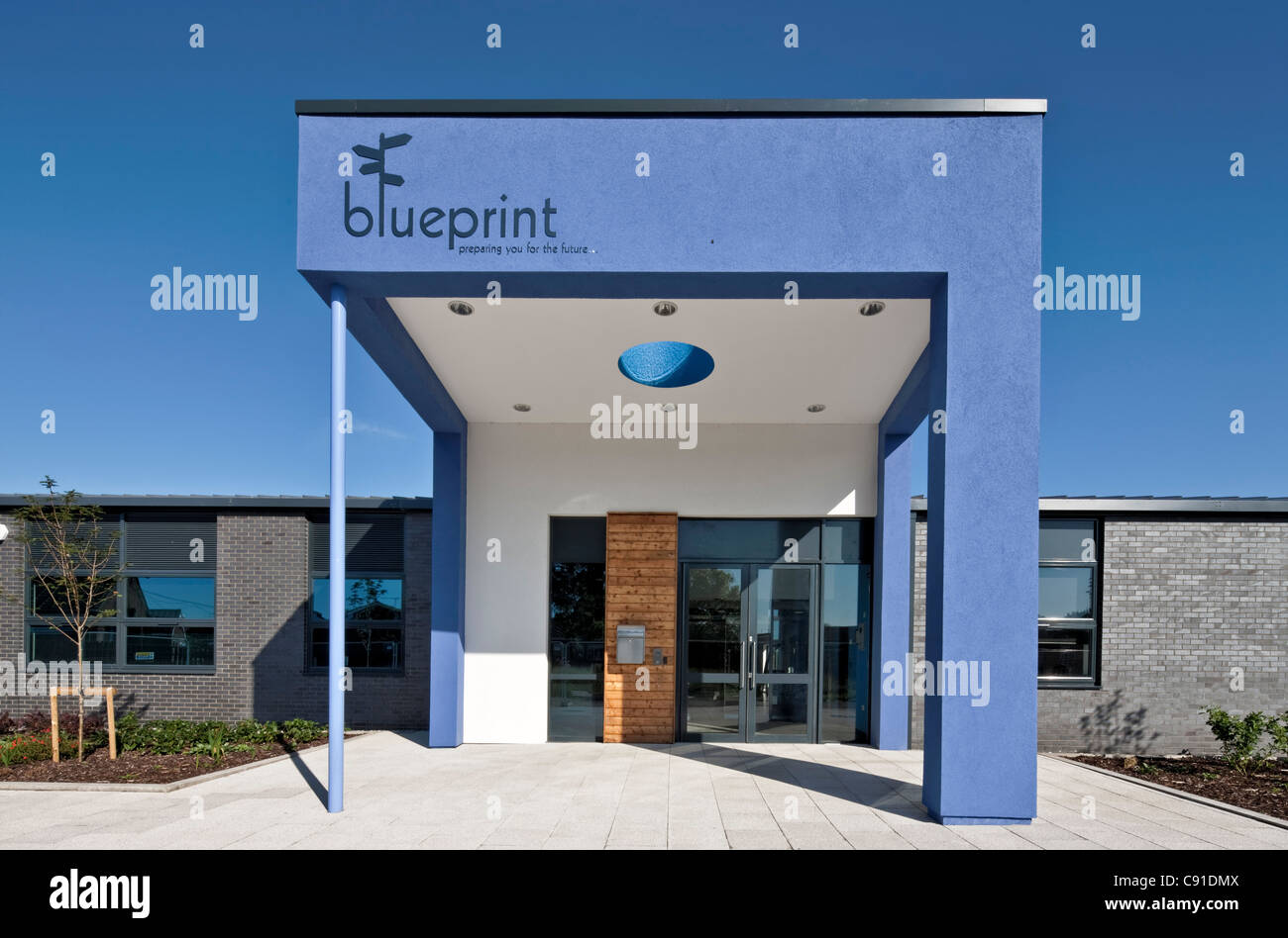 Blueprint Short Stay School in Aylesbury, Buckinghamshire - Stock Image