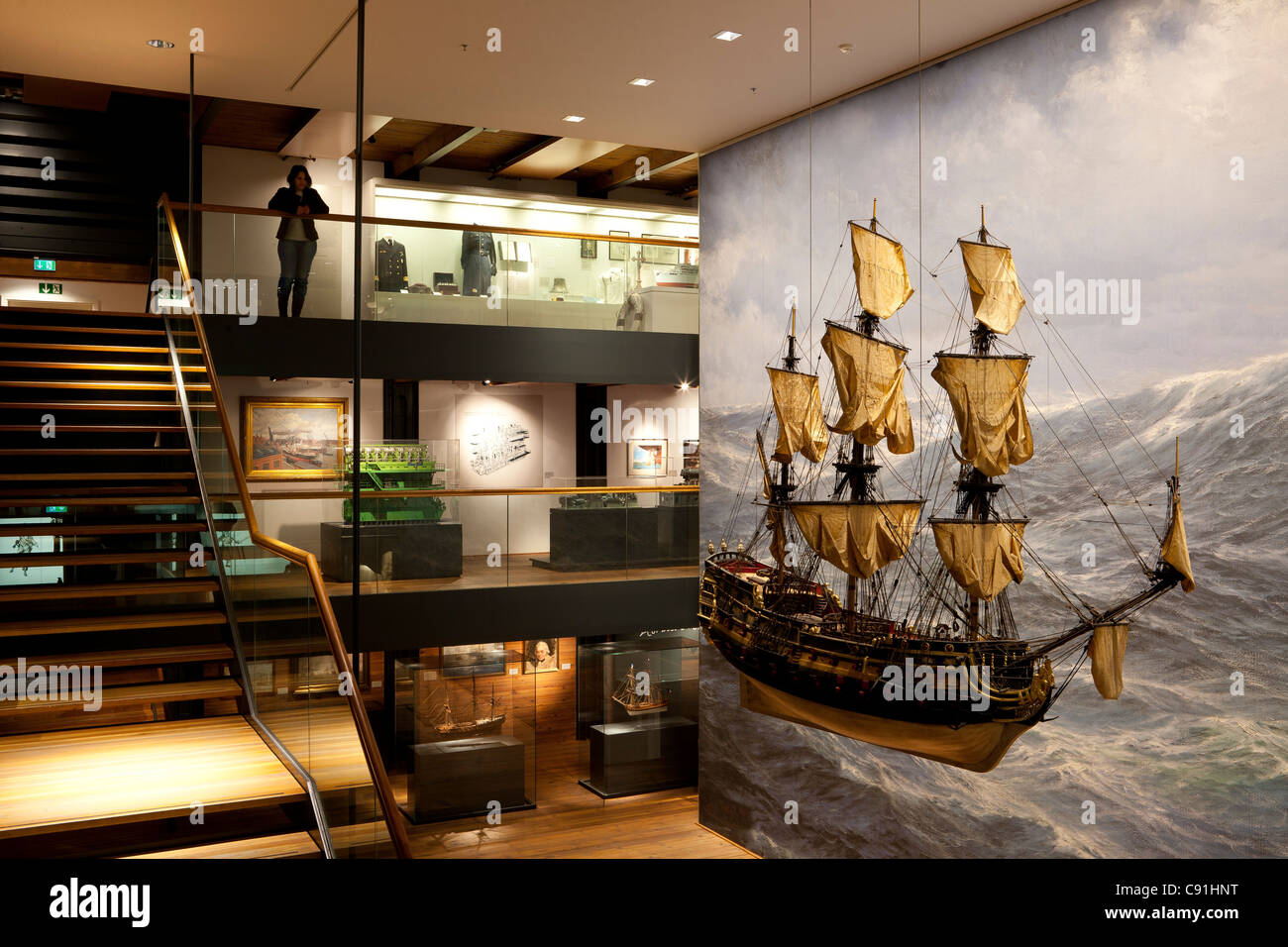 Internationales Maritimes Museum Hamburg, Hanseatic city of Hamburg, Germany, Europe - Stock Image
