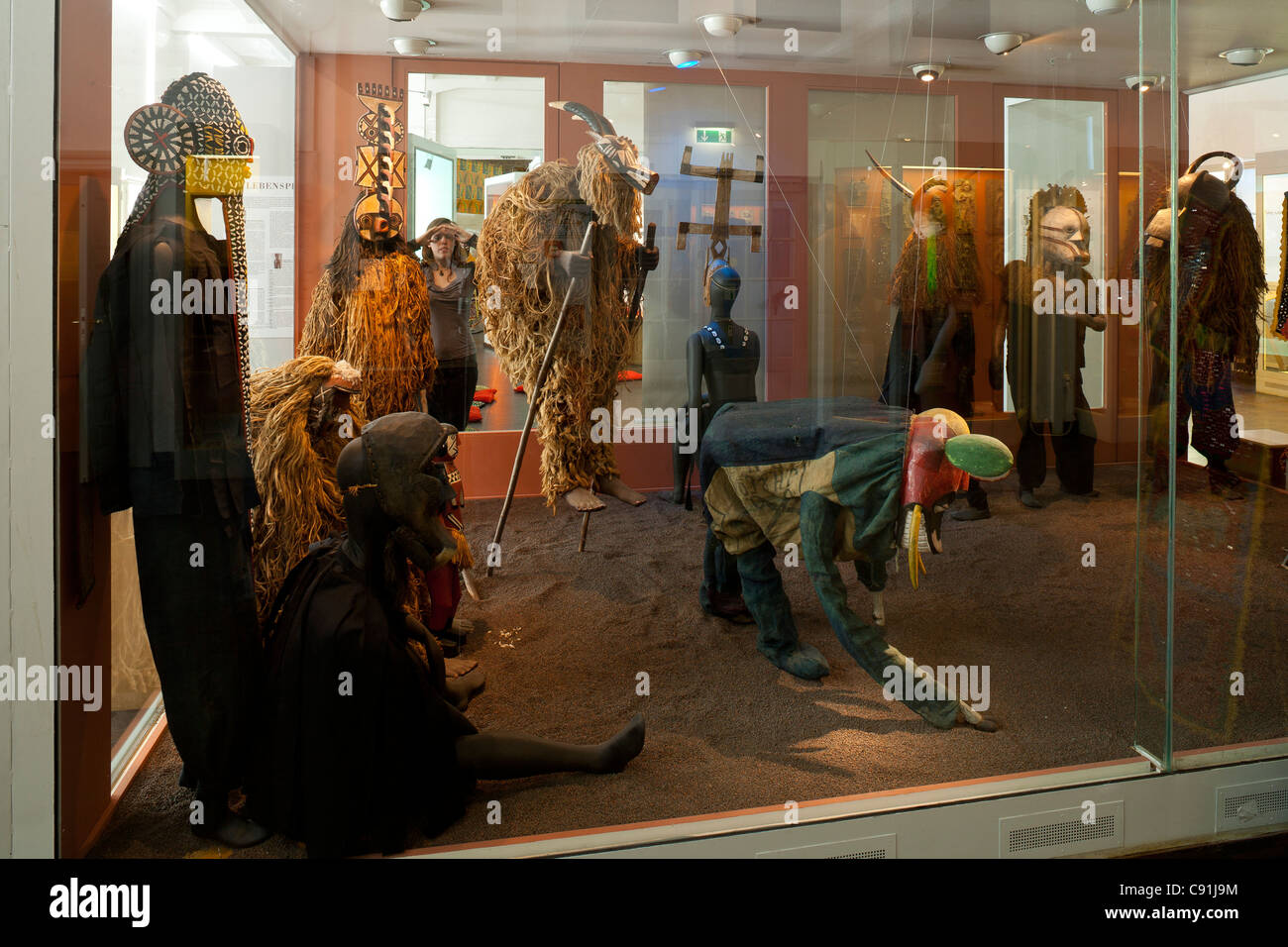 Museum of Ethnology Hamburg, Africa exhibition, Hanseatic city of Hamburg, Germany, Europe - Stock Image