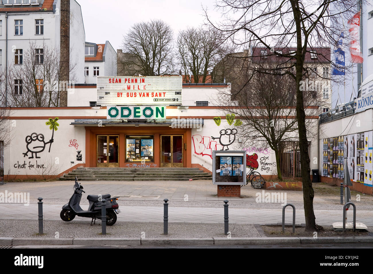 Odeon Cinema shows films in the English language, Berlin-Schoeneberg, Berlin, Germany, Europe - Stock Image