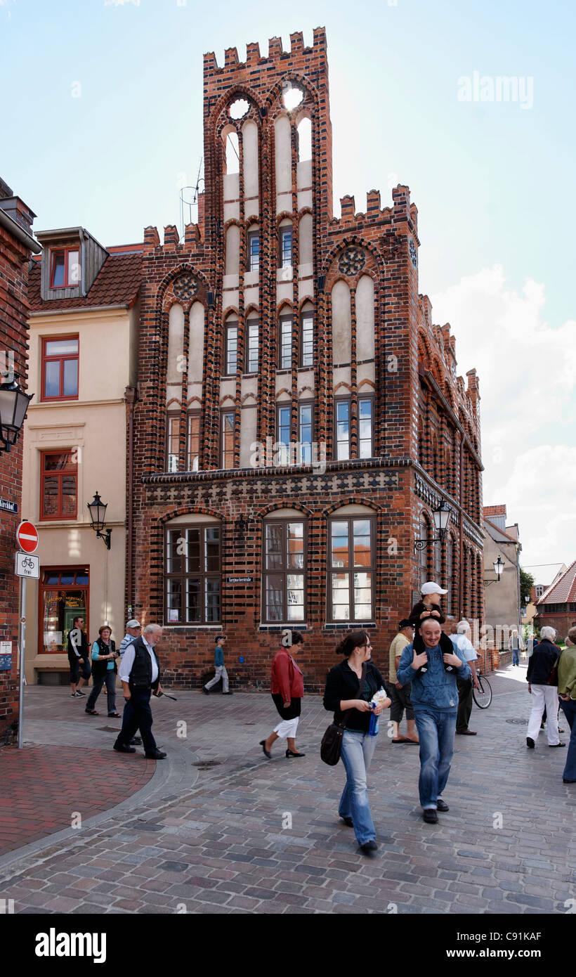 Archidiakonat, hanseatic city Wismar, Mecklenburg-Western Pomerania, Germany Stock Photo