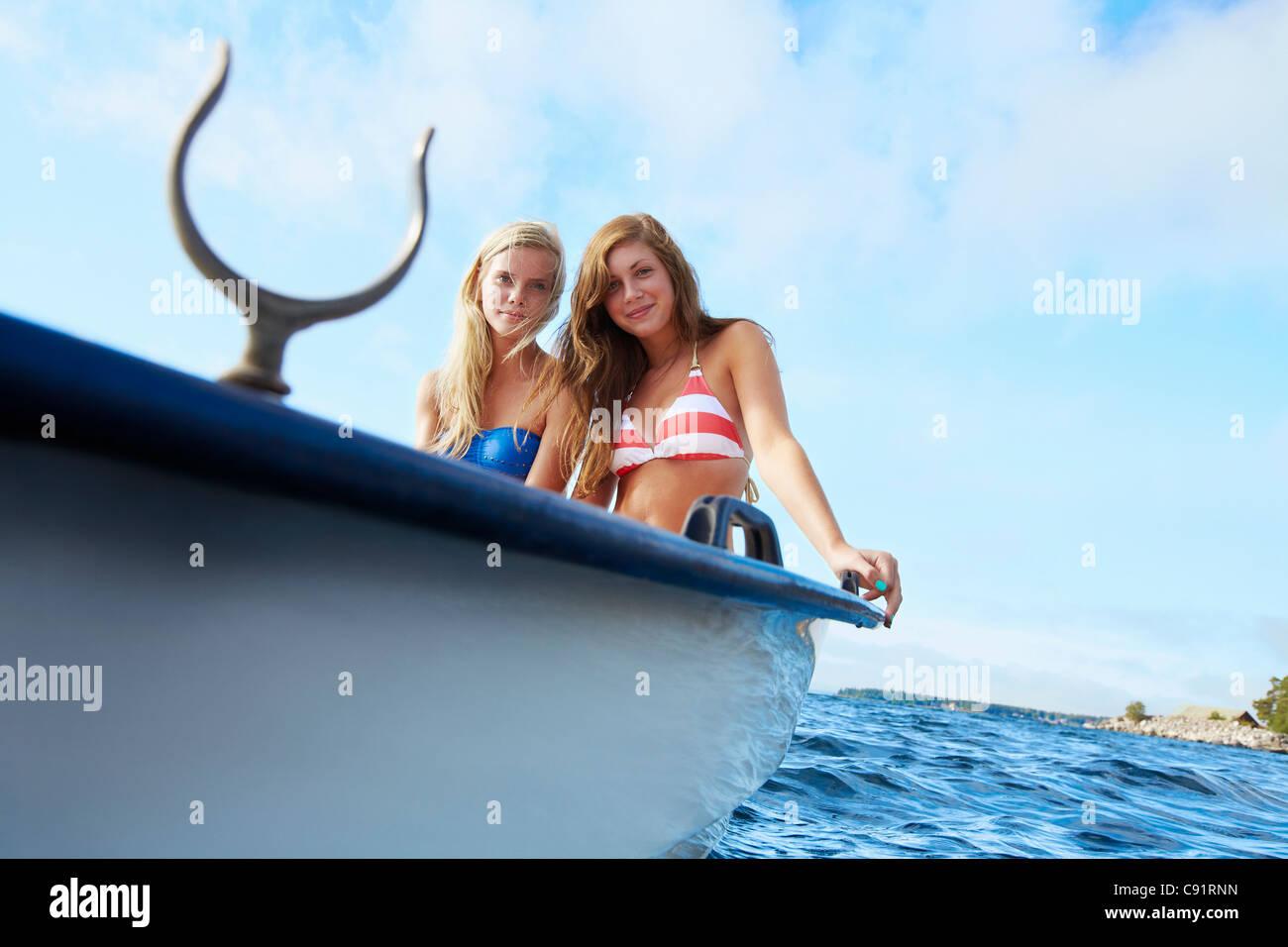 Read Teen bikini on cruise ship something is