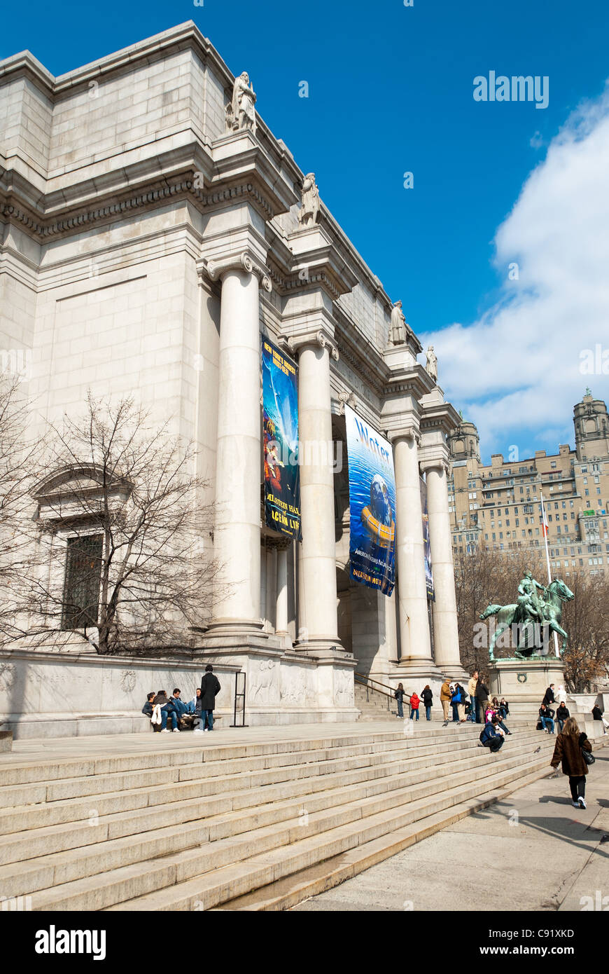 Natural History Museum New York City USA - Stock Image