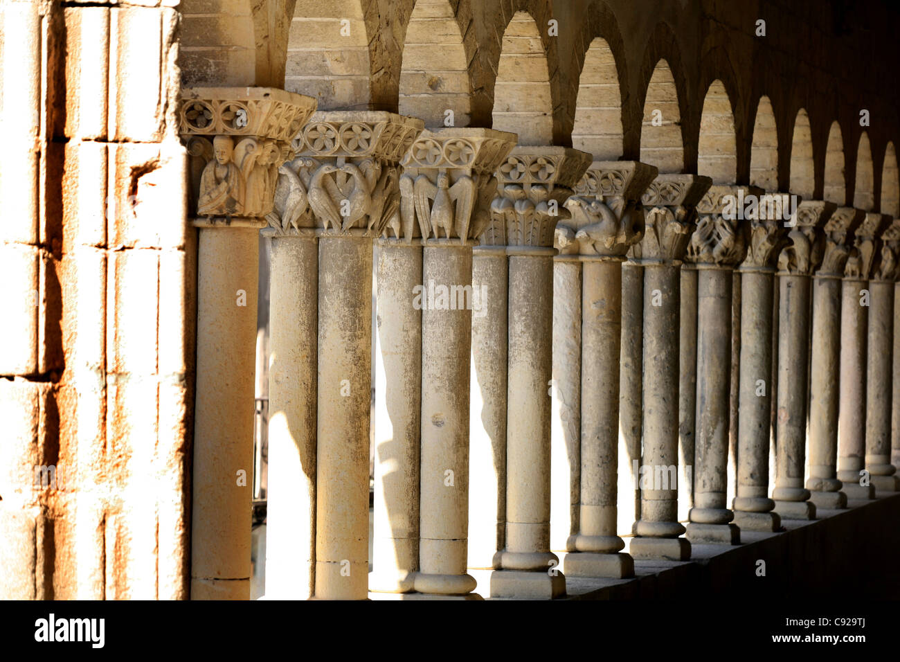 The Church of San Martin is a historic Romanesque church in Segovia. - Stock Image