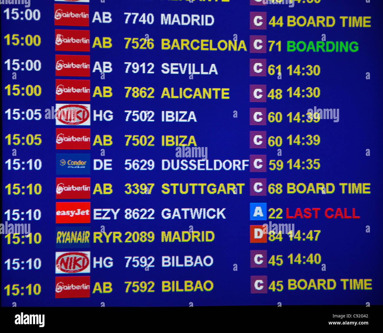 Airport palma de mallorca ankunft