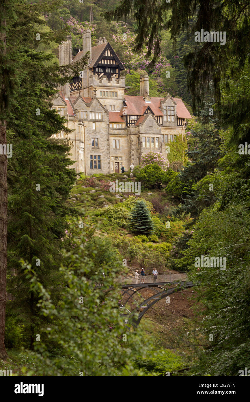 Cragside House is the former house of Lord Armstrong and stands ...