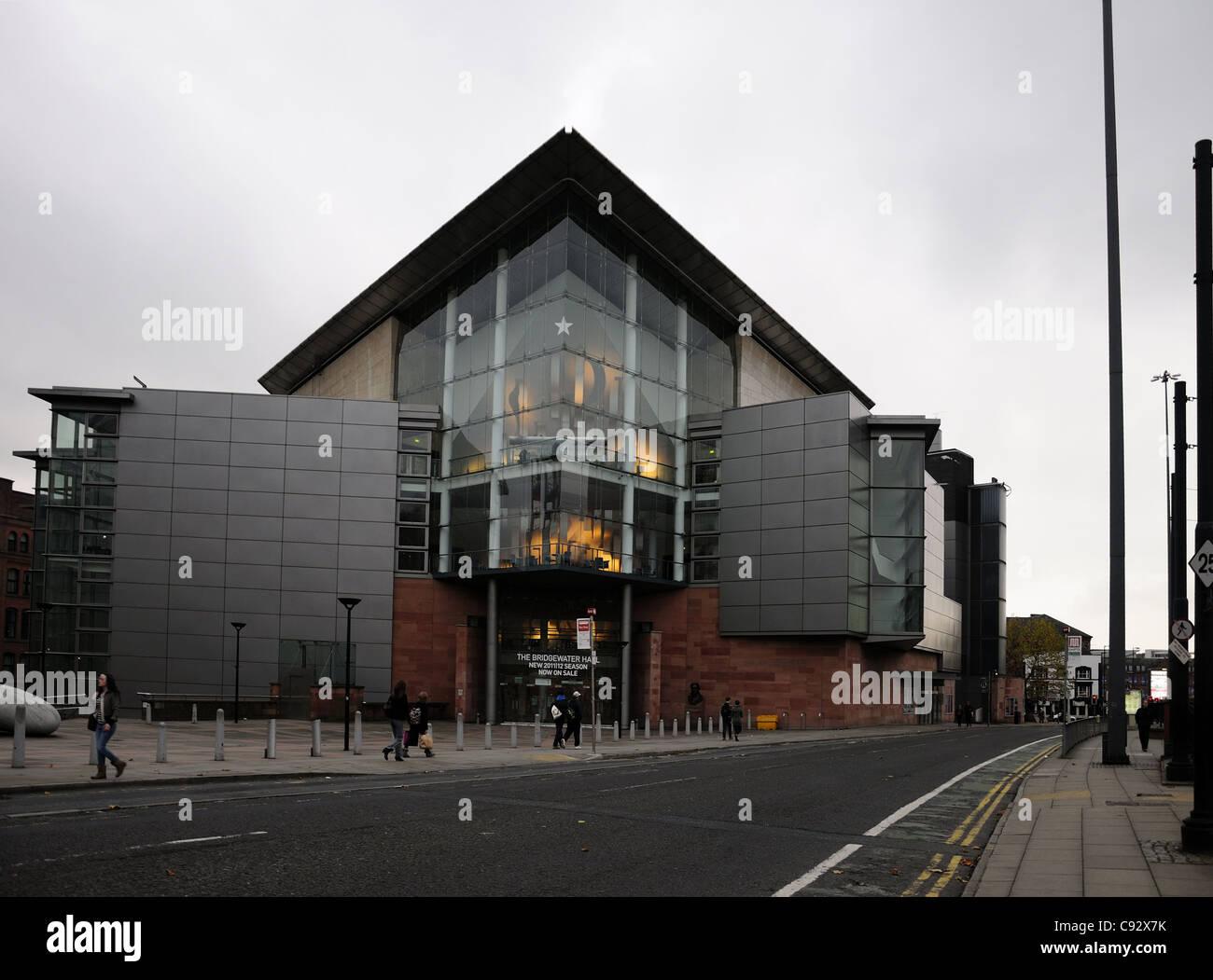 The Bridgewater Hall, Manchester - Stock Image