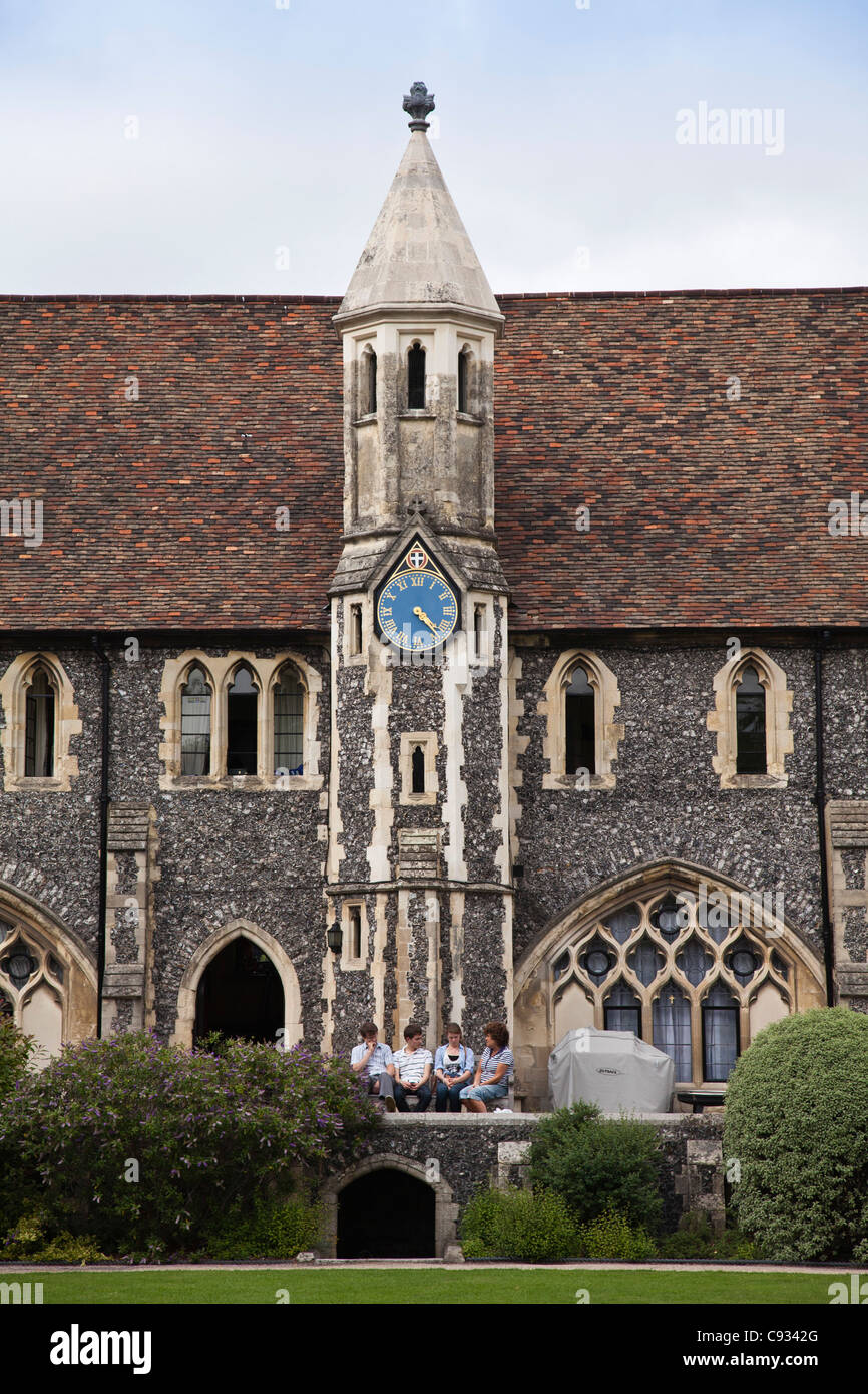 England, Kent, Canterbury. Tradescant House, The King's School, Canterbury, the oldest school in England. - Stock Image