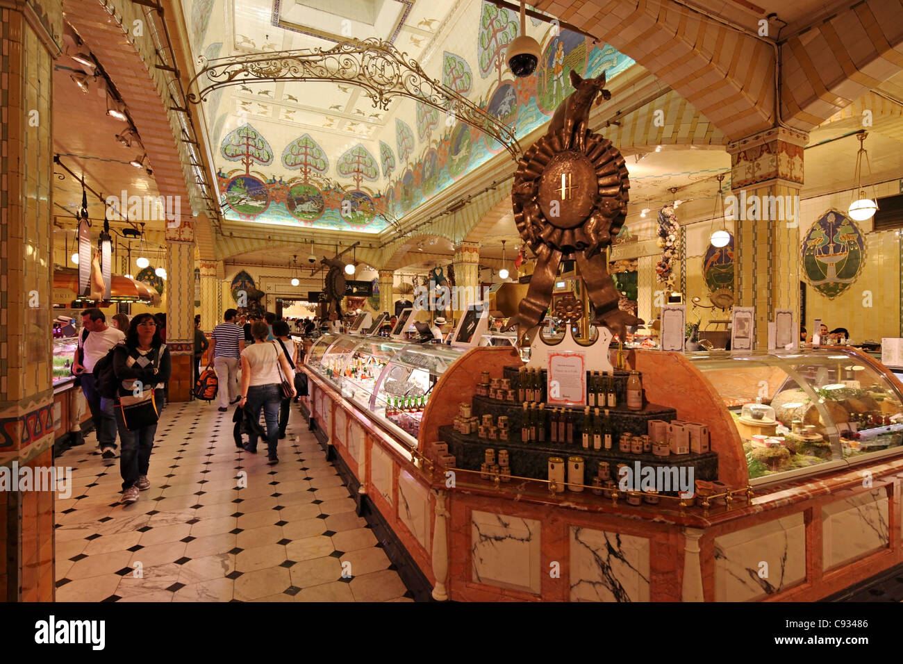 The Food Hall In Harrods Department Store London