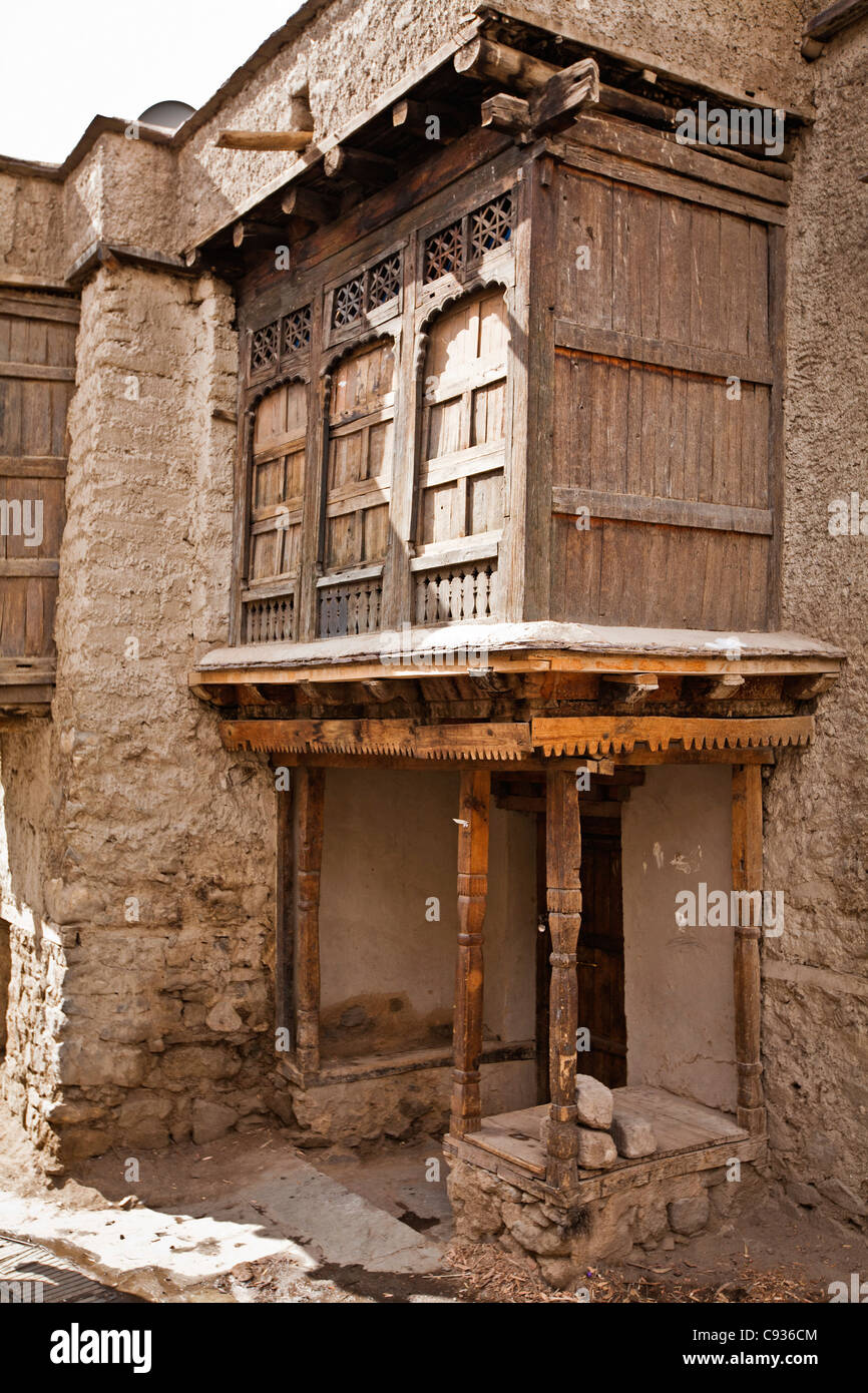 An old kashmiri house in leh old town
