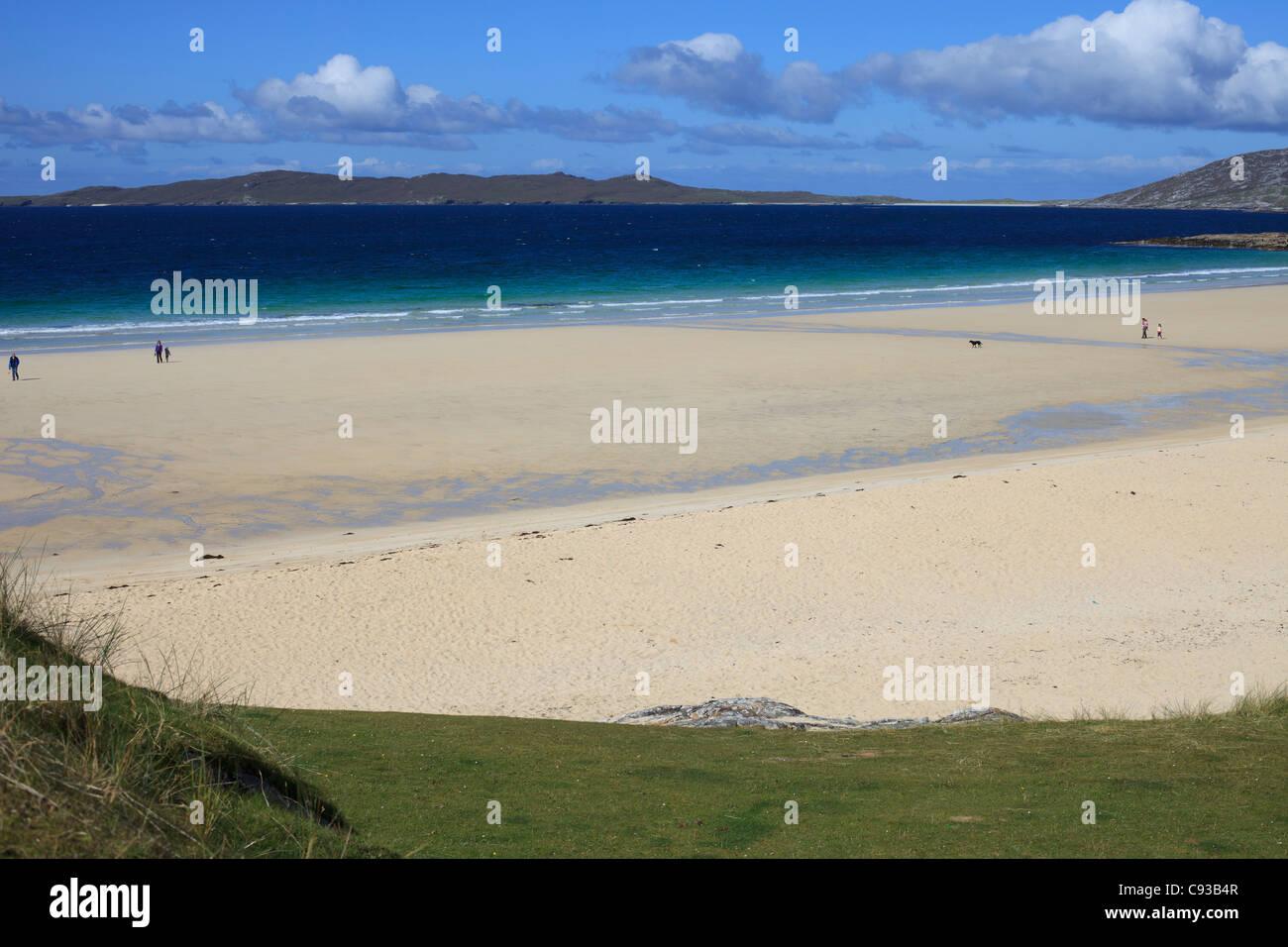 Traigh Lar, Isle of Harris, Outer Hebrides, Scotland - Stock Image