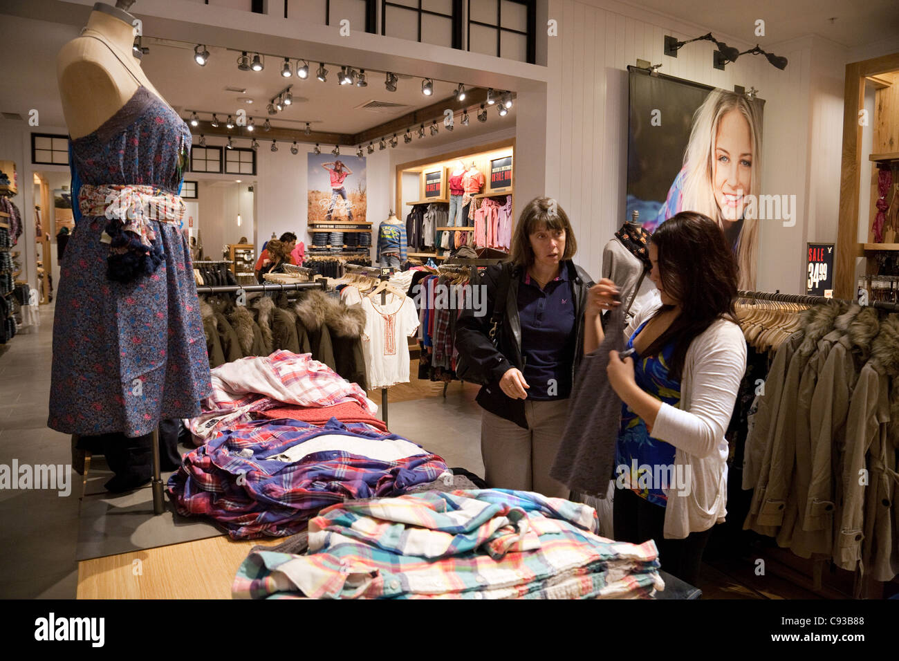 American Eagle Outfitters Store Montgomery Mall Washington DC USA